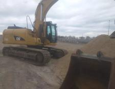 Caterpillar tracked excavator CAT 318C