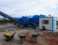 Sumab EASILY TRANSPORTED! K-60 (60m3/h) Mobile Plant